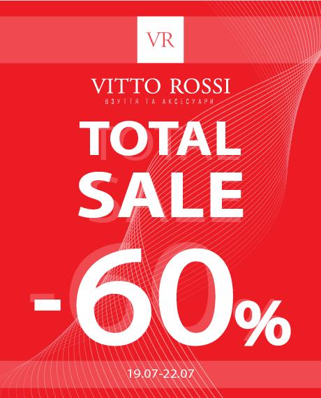 - 60% на обувь и аксессуары в VITTO ROSSI!