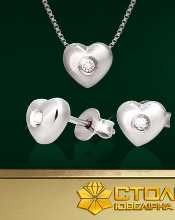 Акция на комплекты с бриллиантами от СТОЛИЧНОЙ Ювелирной Фабрики