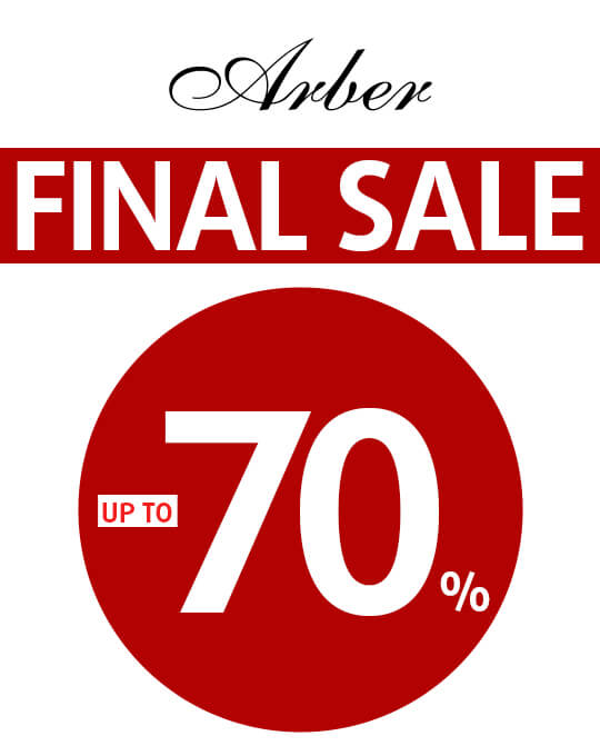 Arber FINAL SALE up to -70%