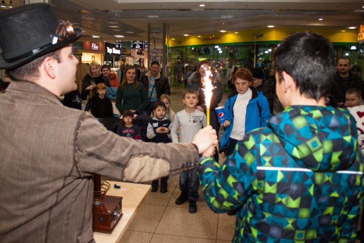 Фотоотчет «Детские выходные» в ТРЦ «Караван» Днепр