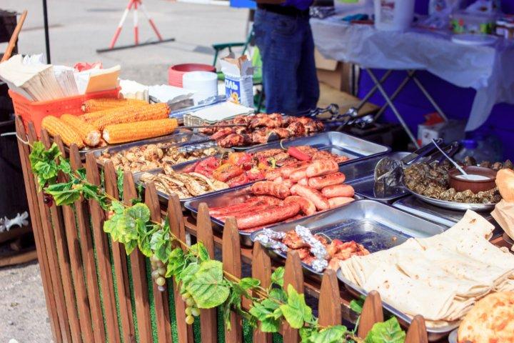 Фотоотчет «Кулинарный уикенд» в ТРЦ «Караван» Днепр