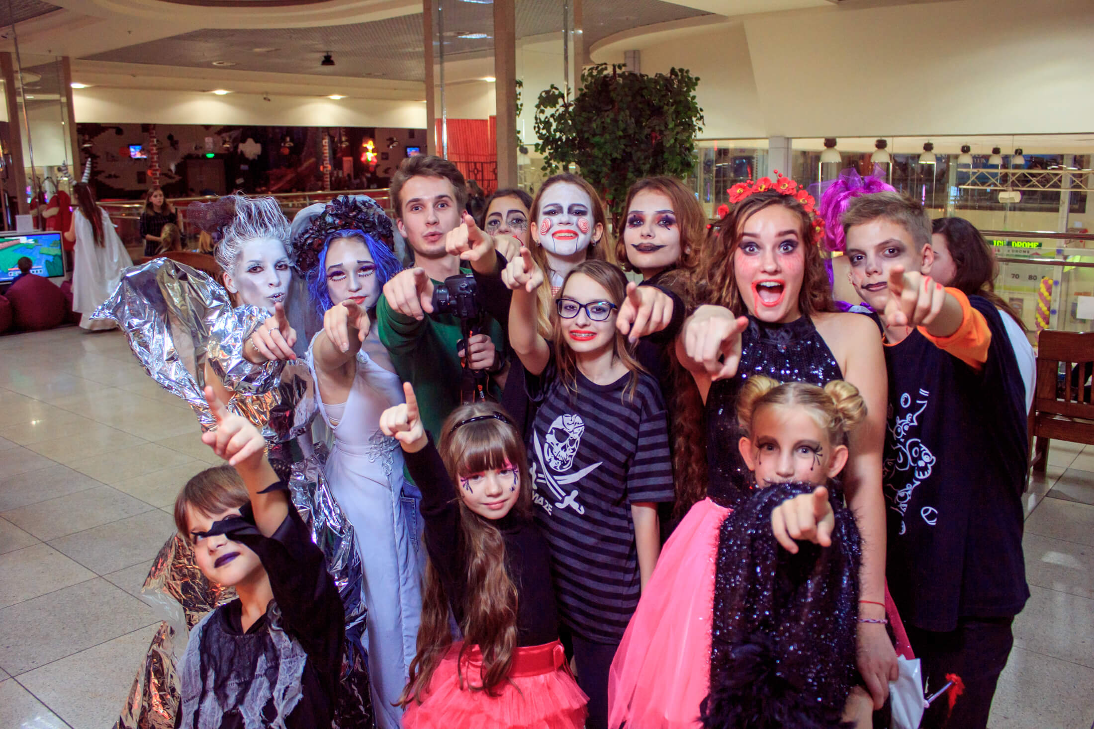 Фотоотчет «Shopping Halloween»