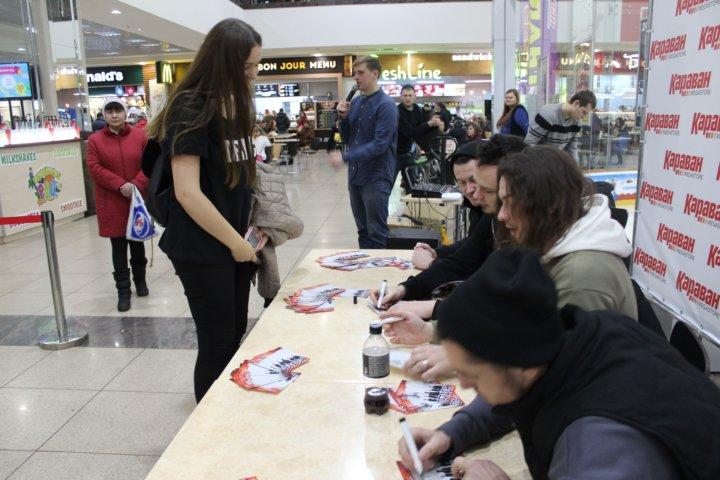 Фотоотчет автограф-сессия группы «DETACH»