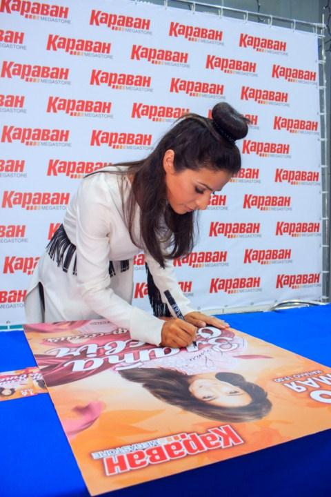 Автограф-сессия Златы Огневич
