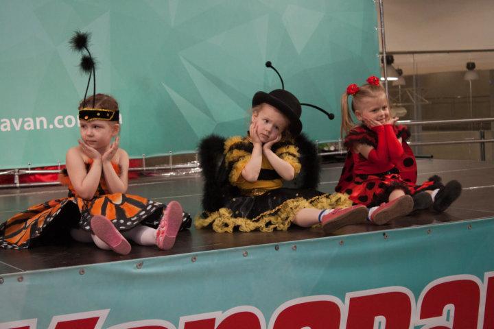 Фототтчет «Детские выходные» в ТРЦ «Караван» Днепр