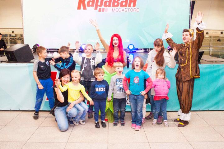 Фотоотчет «Детские развлечения» в ТРЦ «Караван» Днепр