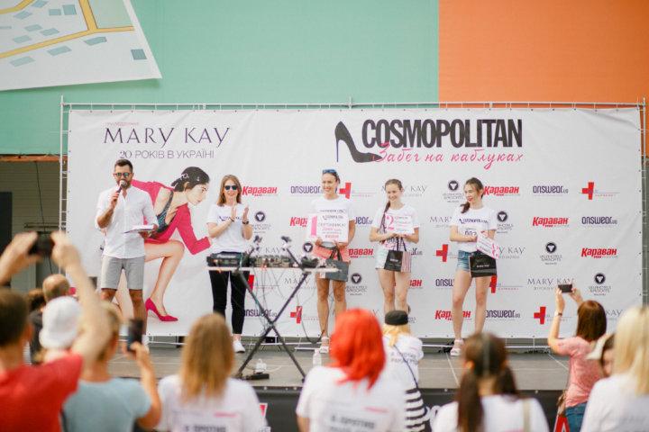 Фотоотчет «Cosmopolitan — забег на каблуках»