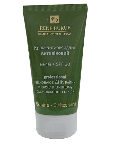 IRENE BUKUR представляет крем-антиоксидант «Антивозрастной» SPF 30