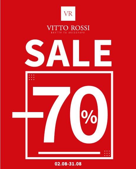 До -70% на коллекцию обуви и аксессуаров в VITTO ROSSI