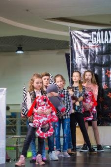 Фотоотчет Galaxy Fashion Academy у ТРЦ «Караван»