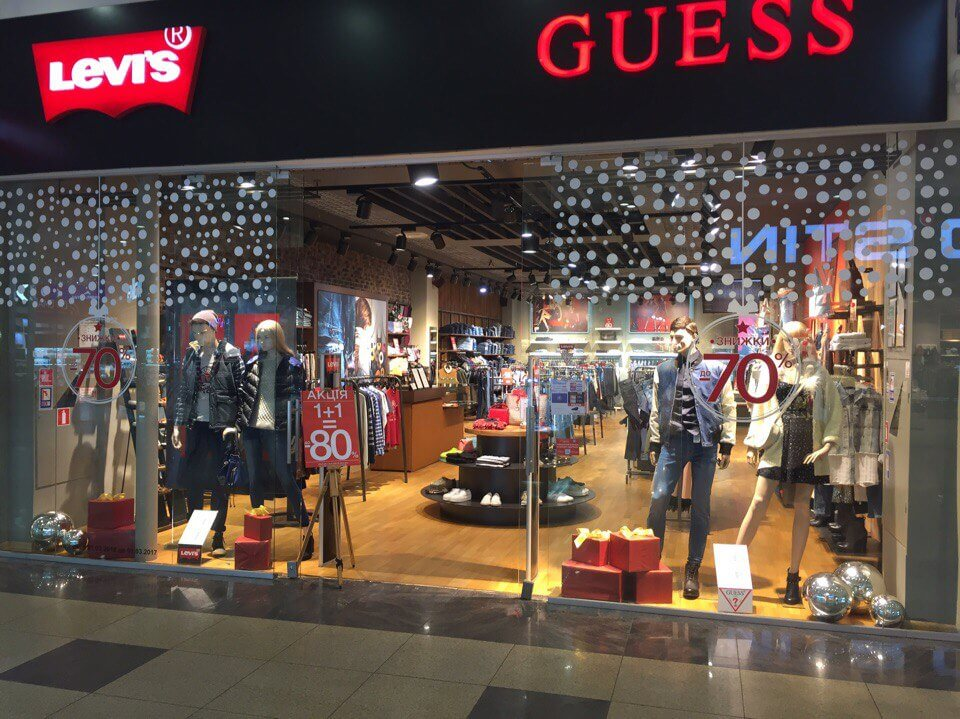 Levi`s & Guess