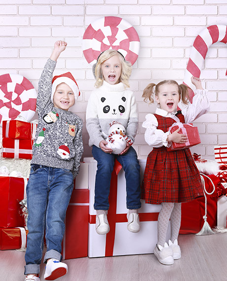 Новогодние чудеса для малышей!