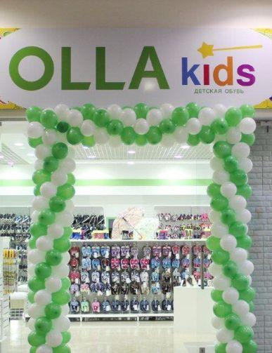 Новый магазин детской обуви OLLA-KIDS
