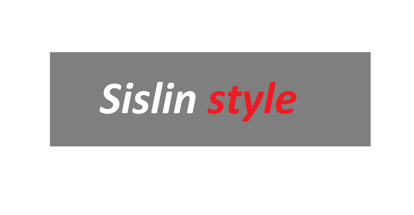 Sisline style