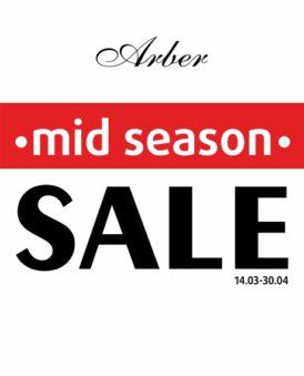 Весняний Mid Season SALE в Arber!
