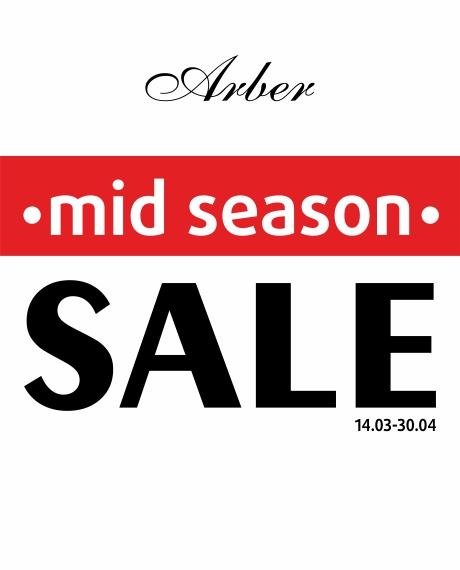 Весенний Mid Season SALE в Arber!