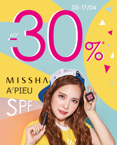 Весна в Isei: -15% і -20% на Missha і A'pieu