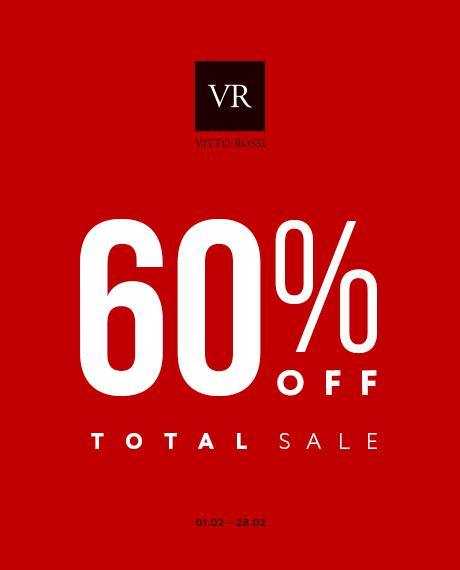 Тотальний розпродаж в VITTO ROSSI -60%
